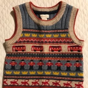 Monsoon Shirts & Tops - Monsoon, Boy's Sweater Vest. Size 12-18 Months